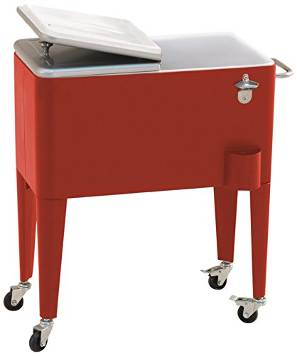 Sunjoy-60-quart-Red-Steel-Beverage-Cooler-0