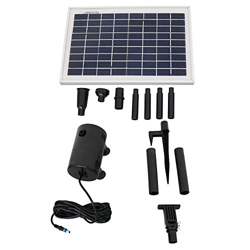 Sunnydaze-8W-Outdoor-Solar-Pump-and-Panel-Fountain-Kit-with-2-Spray-Heads-200-GPH-80-Inch-Lift-0