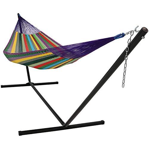 Sunnydaze-Multi-Colored-Mayan-Hammock-Sizes-Options-Available-0-0