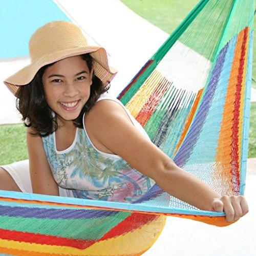 Sunnydaze-Multi-Colored-Mayan-Hammock-Sizes-Options-Available-0-1