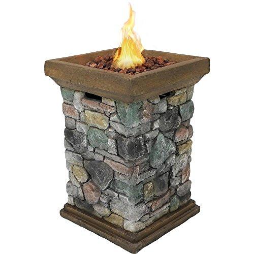 Sunnydaze-Outdoor-30-Inch-Tall-Cast-Rock-Column-Design-Propane-Gas-Fire-Pit-0