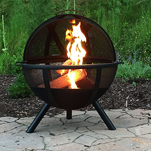 Sunnydaze-Sphere-Flaming-Ball-Fire-Pit-with-Protective-Cover-0