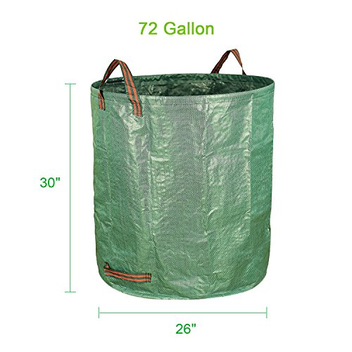 Sysrion-3-Pack-72-Gallons-Garden-Waste-Bags-Collapsible-Reusable-Yard-Container-0-2