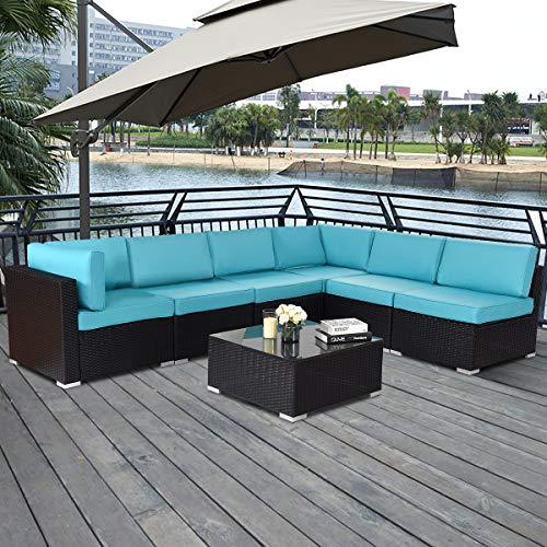 TANGKULA-Patio-Rattan-Sofa-Outdoor-Garden-Modern-PE-Wicker-Rattan-Sofa-Conversation-Furniture-Set-with-Cushion-0-1