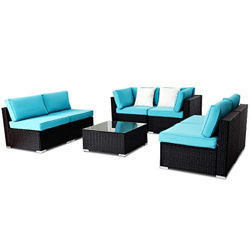 TANGKULA-Patio-Rattan-Sofa-Outdoor-Garden-Modern-PE-Wicker-Rattan-Sofa-Conversation-Furniture-Set-with-Cushion-0