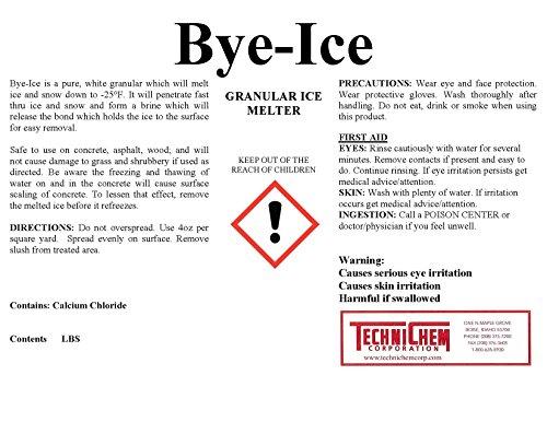 Technichem-Corporation-BYE-ICE-Granular-Ice-Melter-1-50lb-Pail-0