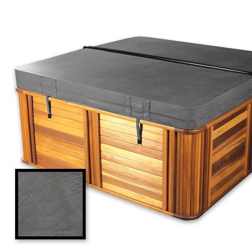 The-Cover-Guy-Standard-4-Replacement-Hot-Tub-Spa-Cover-Crystal-Water-Spa-models-88x88x8-Radius-Corners-in-Brown-or-Grey-0-0