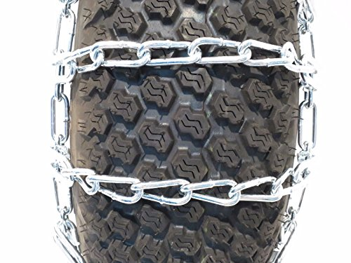 The-ROP-Shop-New-Pair-2-Link-TIRE-Chains-23x105x12-fits-Many-Polaris-Ranger-RZR-UTV-Vehicle-0-0