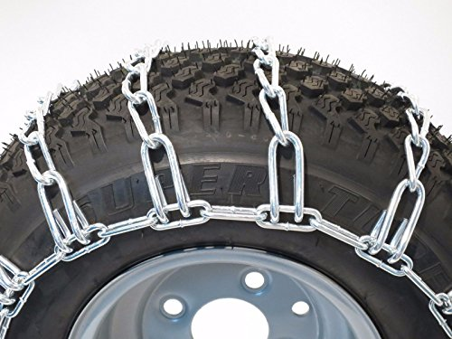 The-ROP-Shop-New-Pair-2-Link-TIRE-Chains-23x105x12-fits-Many-Polaris-Ranger-RZR-UTV-Vehicle-0