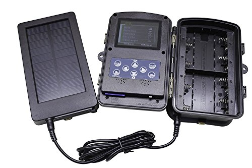 Tiangtech-Solar-Panel-2500mah-Solar-Charger-Battery-for-Hunting-And-Game-Trail-Cameras-0