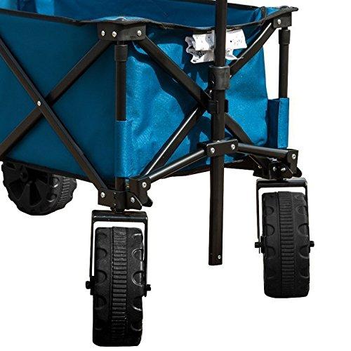 Timber-Ridge-Folding-Wagon-for-Garden-Beachh-0-2