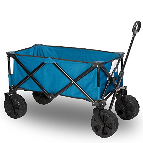 Timber-Ridge-Folding-Wagon-for-Garden-Beachh-0