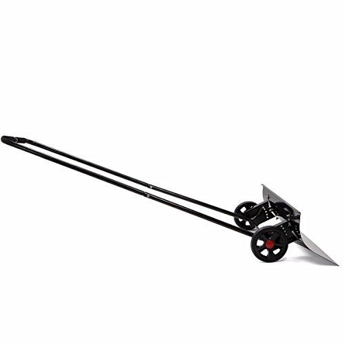 TimmyHouse-Snow-Shovel-Adjustable-Angle-Wheeled-Shove-Walk-Behind-Pusher-Angled-Wide-Steel-Blade-0-0