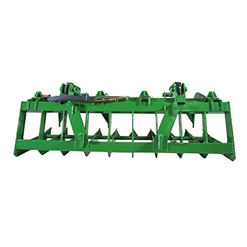 Titan-84-Root-Grapple-Bucket-Attachment-fits-Global-Euro-John-Deere-Loaders-0-2