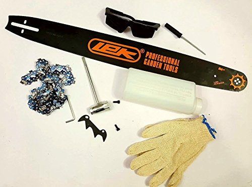 Toolscentre-Lek-22-Guide-Bar-2400-Watt-Fuel-Chainsaw-58CC-0-0