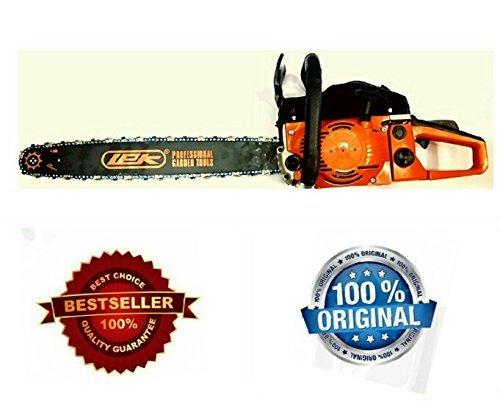 Toolscentre-Lek-22-Guide-Bar-2400-Watt-Fuel-Chainsaw-58CC-0