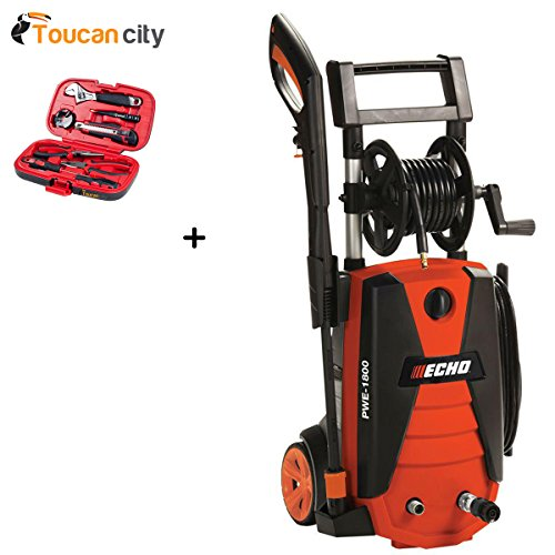 Toucan-City-Tool-kit-9-piece-and-ECHO-1800-psi-13-GPM-Electric-Pressure-Washer-PWE-1800-0
