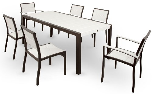 Trex-Outdoor-Furniture-TXS123-1-11CB-Surf-City-7-Piece-Dining-Set-Textured-SilverCharcoal-Black-0