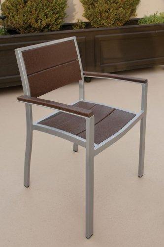 Trex-Outdoor-Furniture-TXS124-1-11VL-Surf-City-6-Piece-Dining-Set-Textured-SilverVintage-Lantern-0-0