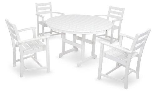 Trex-Outdoor-Furniture-by-Polywood-5-Piece-Monterey-Bay-Dining-Set-Vintage-Lantern-0