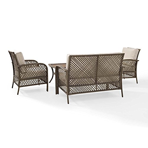 Tribeca-4-Piece-Deep-Seating-Group-Outdoor-Patio-Conversation-Set–UV-Protection-Wicker-Rattan-Steel-Frame-Furniture–High-Grade-Waterproof-Fade-Resistant-Cushions–Glass-Coffee-Table–Loveseat-Chair–0-2