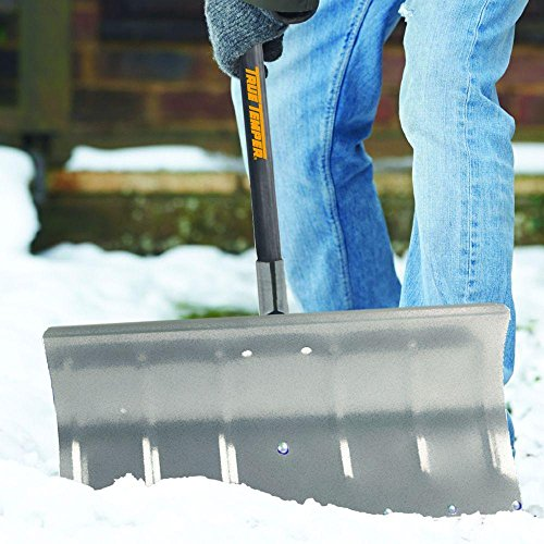 True-Temper-24-in-Aluminum-Snow-Pusher-with-Durable-aluminum-blade-with-reinforced-socket-0-1