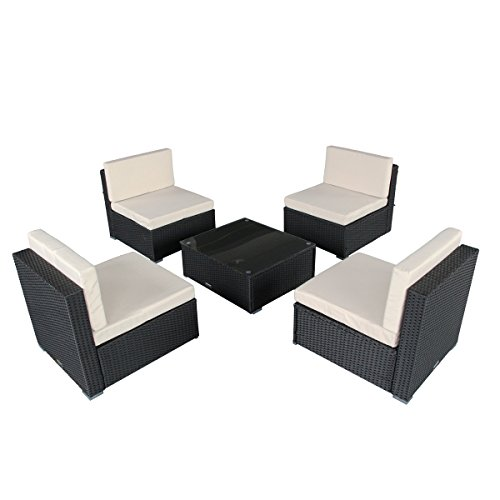 U-MAX-7-Piece-7-12-Pieces-Patio-PE-Rattan-Wicker-Sofa-Sectional-Furniture-Set-0