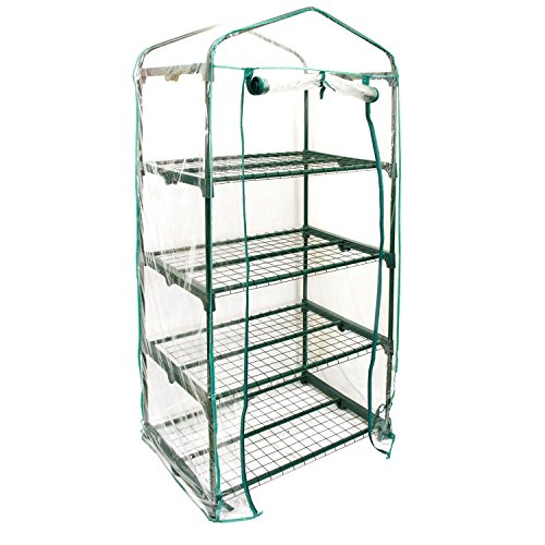US-Garden-Supply-Premium-4-Tier-Greenhouse-27-Long-x-19-Wide-x-63-High-Grow-Seeds-Seedlings-Tend-Potted-Plants-0-0