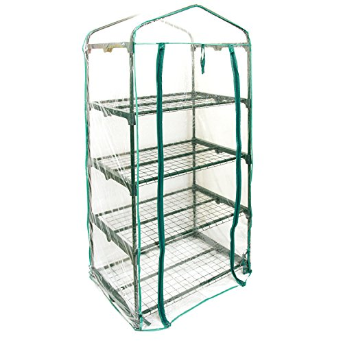 US-Garden-Supply-Premium-4-Tier-Greenhouse-27-Long-x-19-Wide-x-63-High-Grow-Seeds-Seedlings-Tend-Potted-Plants-0-1