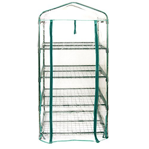 US-Garden-Supply-Premium-4-Tier-Greenhouse-27-Long-x-19-Wide-x-63-High-Grow-Seeds-Seedlings-Tend-Potted-Plants-0-2