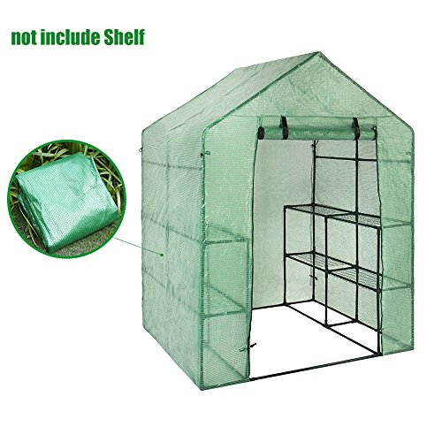 US-PopTrading-Greenhouse-Plant-Cover-Outdoor-Portable-Durable-Mini-Walk-in-PE-Waterproof-Cover-for-Herb-and-Flower-0