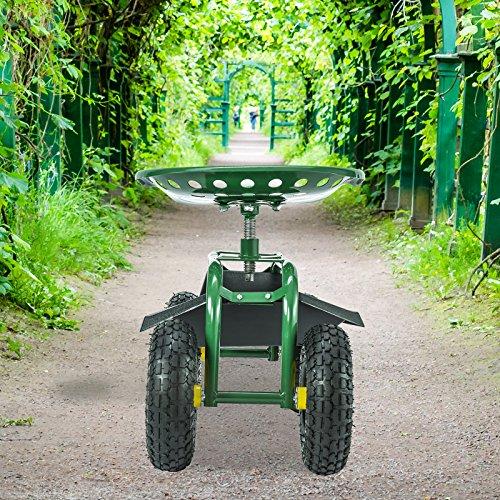 Uenjoy-Garden-Wagon-Multi-Species-Garden-Utility-Trailer-Yard-Dump-Lawn-Cart-0-1