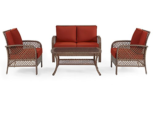 Ulax-furniture-4-Piece-Outdoor-Patio-Deep-Seating-Group-with-Cushion-Rattan-Wicker-Furniture-Sofa-Set-0-4