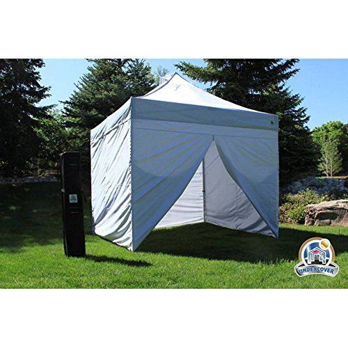 Undercover-10-x-10-ft-Commercial-Hybrid-Solid-CoreInstant-canopy-with-Sidewall-Enclosure-0