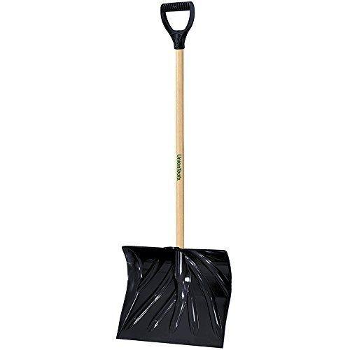 Uniontools-18-inch-Snow-Shovel-with-Hardwood-Handle-0