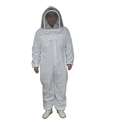 Univegrow-Professional-Beekeeper-Jumpsuit-Suit-Beekeeping-Suit-with-Self-Supporting-Veil-for-Bee-Keepers-0-2
