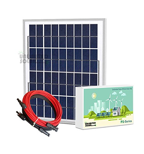 Unlimited-Solar-P2-Series-10-Watt-12-Volt-Off-Grid-Solar-Panel-Kit-0