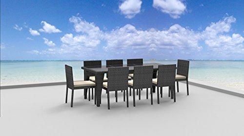 UrbanFurnishingnet-9-Piece-Wicker-Outdoor-Patio-Dining-Set-0-1