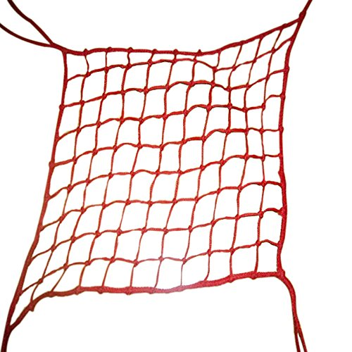 V-Protek-5x20ft-Plastic-Poultry-Fence-Poultry-NettingChicken-Net-Fence-For-Flower-Plants-SupportRed-0-2