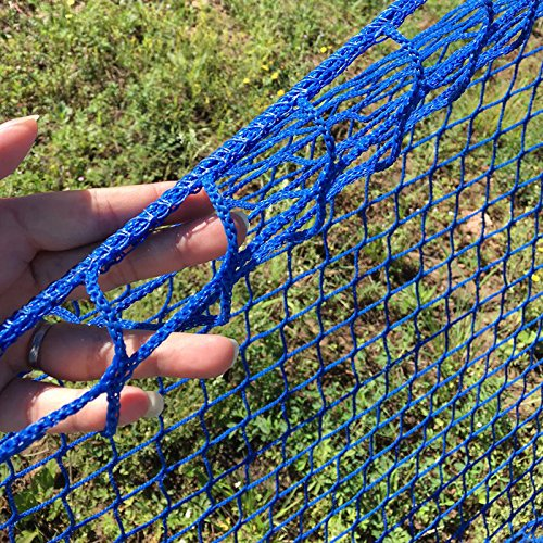 V-Protek-5x30ft-Plastic-Poultry-Fence-Poultry-NettingChicken-Net-Fence-For-Flower-Plants-SupportBlue-0-0