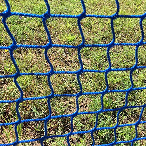 V-Protek-5x30ft-Plastic-Poultry-Fence-Poultry-NettingChicken-Net-Fence-For-Flower-Plants-SupportBlue-0