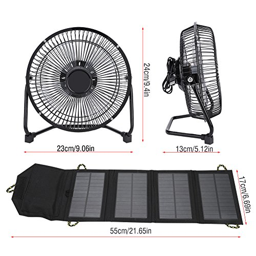 Vbestlife-Solar-Panel-Powered-Fan7W-55V-Outdoor-Portable-Camping-Fan-USB-Cooling-Fan-Solar-Power-Folding-Bag-Phone-Charger-for-Travel-Camping-Fishing-0-1
