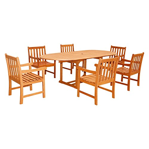 Vifah-V144SET23-7-Piece-7-Outdoor-Wood-Dining-Set-with-Oval-Extension-Table-0