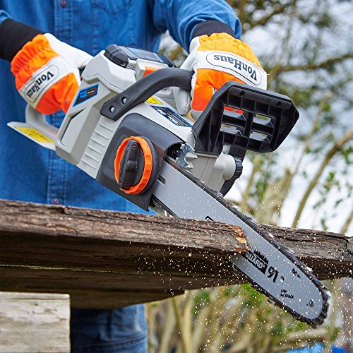 VonHaus-14-Inch-40V-Max-Cordless-Chainsaw-Brushless-Motor-Auto-Tension-Kickback-Handle-40Ah-Lithium-Ion-Battery-Charger-Kit-Included-0-1