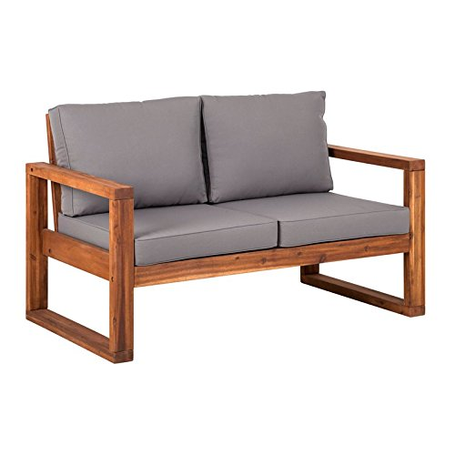 WE-Furniture-AZWOSLSBR-Outdoor-Love-Seat-52-Brown-0