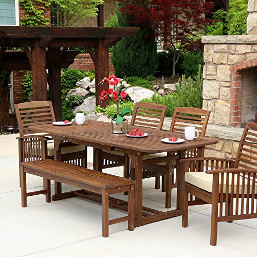 WE-Furniture-Acacia-Wood-Patio-Chairs-Set-of-2-Brown-0-1