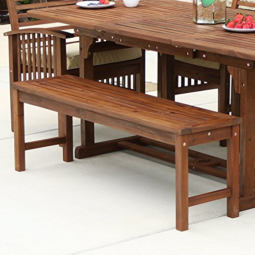 WE-Furniture-Acacia-Wood-Patio-Chairs-Set-of-2-Brown-0