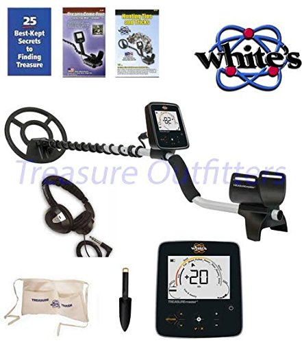WHITES-TREASUREPRO-METAL-DETECTOR-With-FREE-Whites-Treasure-Pouch-Starlite-Headset-Whites-Black-Digging-tool-0