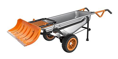 WORX-Aerocart-Multifunction-Wheelbarrow-Dolly-and-Cart-with-WA0230-Snow-Plow-0