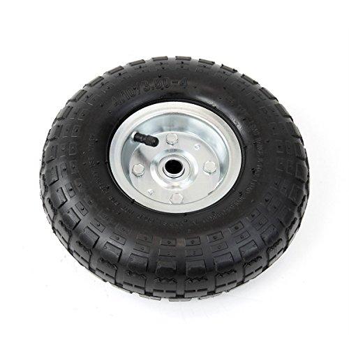WShop-2pcs-Tires-Set-10-in-Air-Pneumatic-Wheel-Tires-Handtruck-Garden-Cart-Wagon-Dump-122-0-1